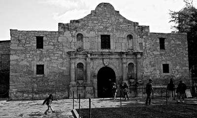 Photograph - The Alamo by Eric Tressler