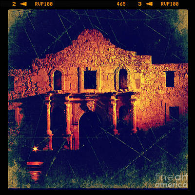 Photograph - The Alamo by Jill Battaglia
