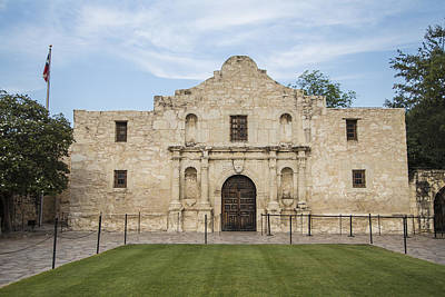 Photograph - The Alamo  by John McGraw
