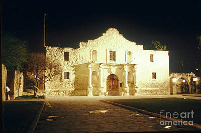 The Alamo. San Antonio, Texas Art Print