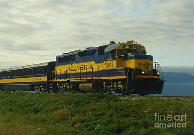 Photograph - The Alaska Express by Lew Davis