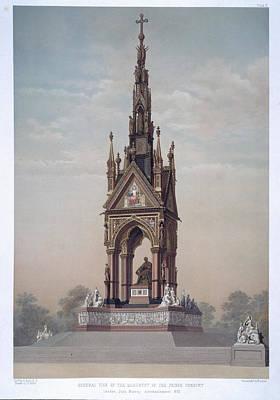 The Albert Memorial Art Print by British Library