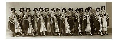 April 30 Photograph - The Albertina Rasch Girls In Rio Rita by Florence Vandamm