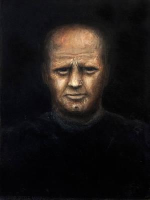 Larry David Painting - The Alcoholic by Antonio Ortiz