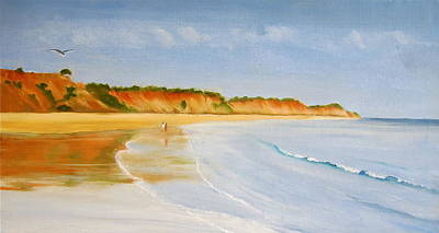 Painting - The Algarve by Heather Matthews
