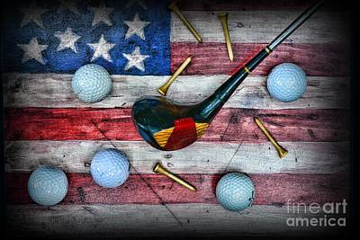 Condor Photograph - The All American Golfer by Paul Ward