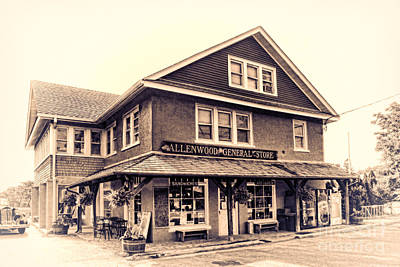 General Store Photograph - The Allenwood General Store by Olivier Le Queinec