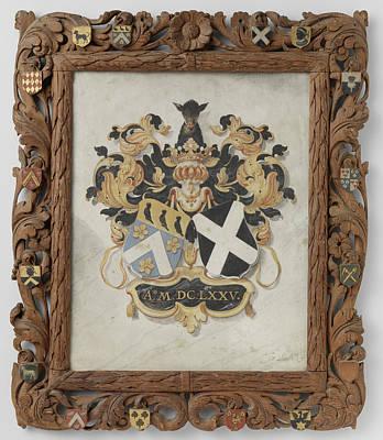 The Alliance Weapons Of Jan Boudaen Courten En Anna Maria Art Print by Litz Collection