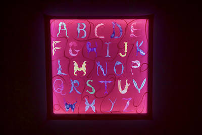 Digital Art - The Alphabet by Photographic Art by Russel Ray Photos