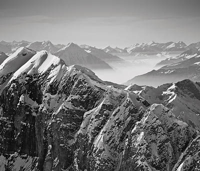 Photograph - The Alps by Antonio Jorge Nunes