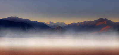 Haze Photograph - The Alps by Joana Kruse