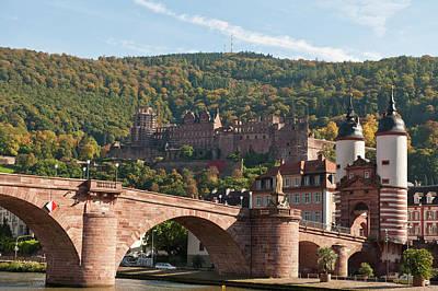 Old Bridge Photograph - The Alte Brucke Or Old Bridge by Michael Defreitas