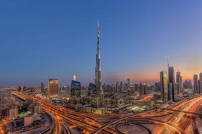 The Amazing Burj Khalifah Art Print
