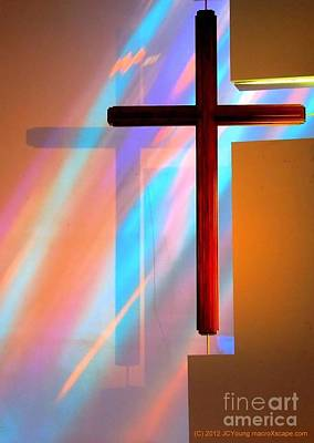 Photograph - The Amazing Cross by JCYoung MacroXscape