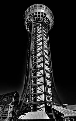 Photograph - The Amazing Sunsphere - Knoxville Tennessee by David Patterson
