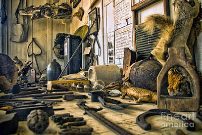 Photograph - The Amazing Wv Country Road Store Window Display by Kathleen K Parker