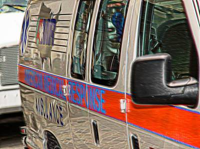 Photograph - The Ambulance by Bob Pardue