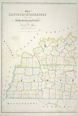 Cartography Photograph - The American Atlas by British Library