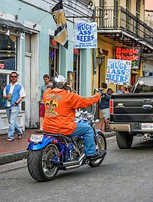The American Way - Harleys Pickups And Huge Ass Beers Art Print by Steve Harrington