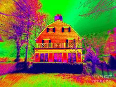 Photograph - The Amityville Horror House by Ed Weidman