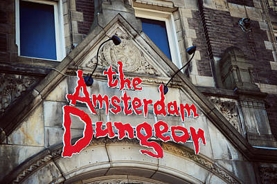 The Amsterdam Dungeon 1 Art Print