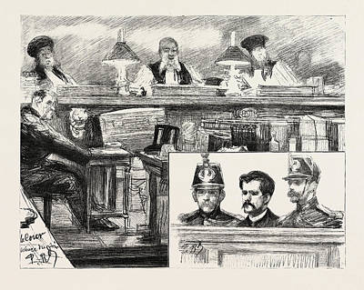 Accomplice Drawing - The Anarchists In Paris, France by French School