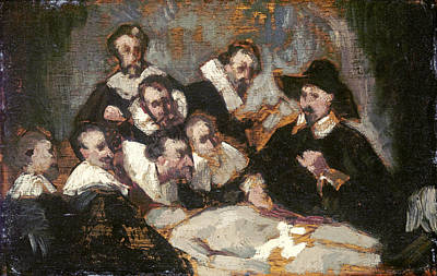 Edouard Manet Painting - The Anatomy Lesson by Celestial Images