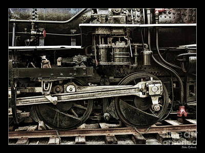 Photograph - The Anatomy Of The Old Train by Blake Richards
