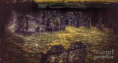 Photograph - The Ancient Graves Of Glenorchy  by Joan-Violet Stretch