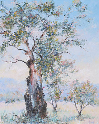 Painting - The Ancient Gum Tree by Jan Matson