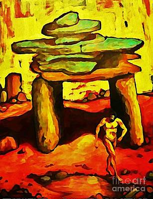 Halifax Art Work Digital Art - The Ancient by John Malone