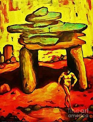 John Malone Art Work Digital Art - The Ancient by John Malone