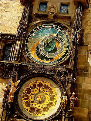 The Ancient Of Clocks Art Print by Ira Shander