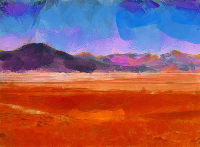 Digital Art - The Andes Landscape 10 by Yury Malkov