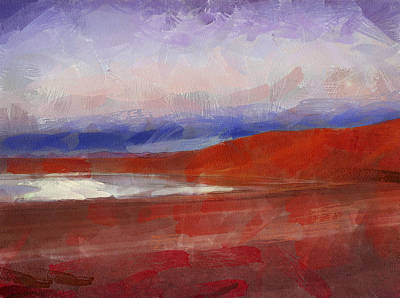 Digital Art - The Andes Landscape 5 by Yury Malkov