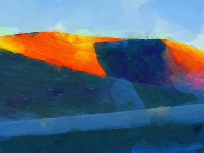 Digital Art - The Andes Landscape 6 by Yury Malkov