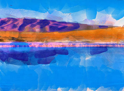 Digital Art - The Andes Landscape 9 by Yury Malkov