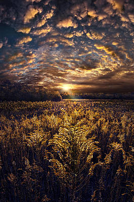 The Angels Get A Better View Art Print by Phil Koch
