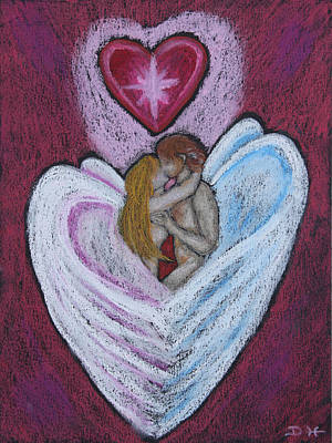 Pastel - The Angel's Kiss by Diana Haronis