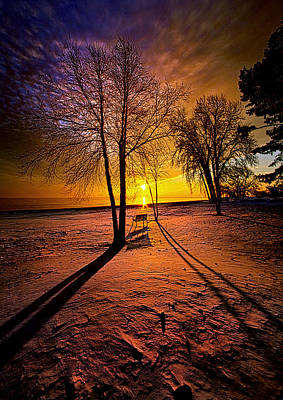 The Angels Sang A Whispered Lullaby Print by Phil Koch