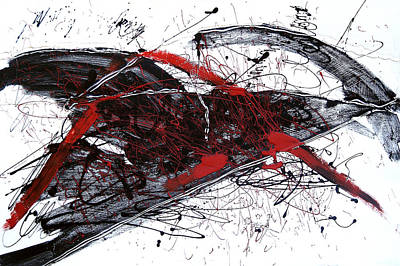 Painting - The Anger by Selke Boris