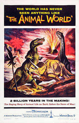 The Animal World, Us Poster, 1956 Art Print by Everett
