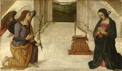 The Annunciation Art Print by Giannicolo da Perugia