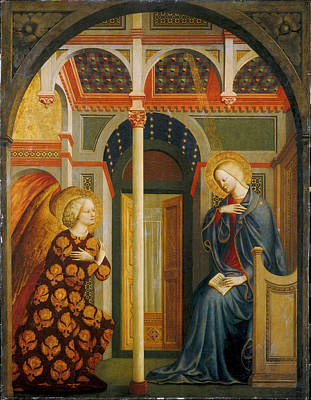 The Annunciation Art Print by Masolino da Panicale