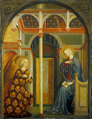 The Annunciation Art Print by Tommaso Masolino da Panicale
