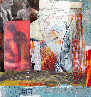 Mixed Media - The Answer To The Question by Linda Novick