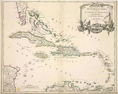 The Antilles Art Print by British Library