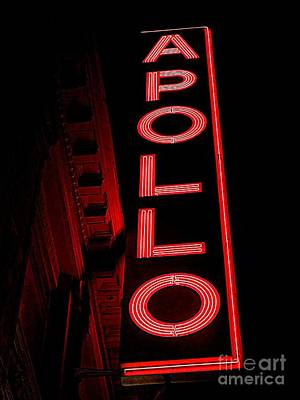Apollo Theater Photograph - The Apollo by Ed Weidman