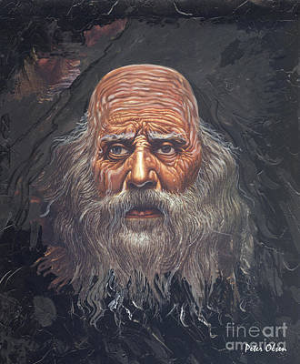 Painting - The Apostle John by Peter Olsen