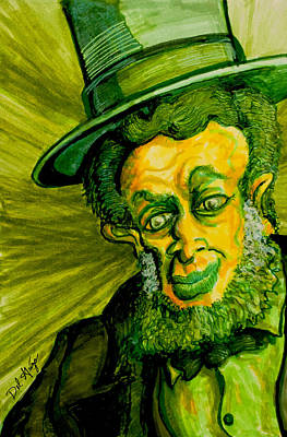Abraham Lincoln Drawings Digital Art - The Apotheosis Of Abraham Lincoln by Del Gaizo